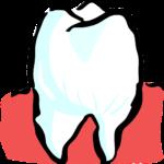 Piękne urodziwe zęby także doskonały uroczy uśmiech to powód do płenego uśmiechu.